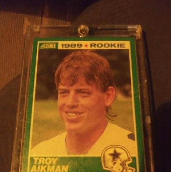 Troy Aikman Rookie Card